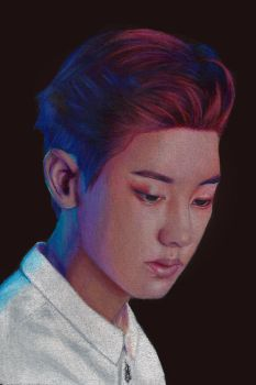 Chanyeol by Eternal--Art