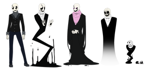 Many Gasters by Gaster-Story