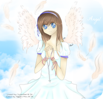 Collab - Angel by miyako-miku