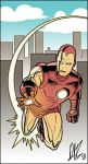 Iron-Man and the Golden Age by narutowannabe