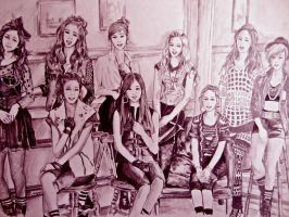 snsd pink version by marsvern