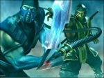 Scorpion and Sub Zero by Ghostninja13