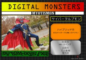 Myotismon Digital Info by Dantedart