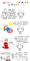 Riviccis thoughts! Hetalia x Avengers by Rivicci