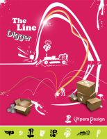 The Line Digger by Pipera