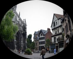 Rue Martainville in Rouen by plumcake-mery