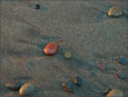 Colored pebbles by NikolaiMalykh