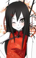 Orochimaru - Chinadress by artemis-girl