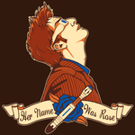 Her Name Was Rose - Shirt Design by sugarpoultry