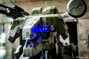 Metal Gear Rex At Otakon 2014 portrait by ProVoltageCosplay