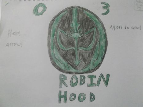 Robin Hood eyecon by AndroidX92