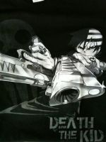 Death The Kid T-shirt by Lucy-chan98