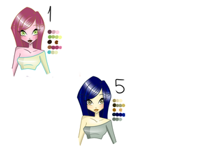 Palette Adoptables 15 Closed By Samoanvampcatt by GlimmeringAngel26