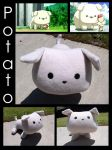 Potato Dog Plushie by Sparrow-dream