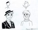 Xkcd character portraits by Flexico