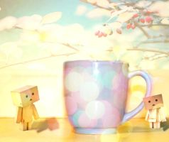 Danbo's Magical Cup by fatilovely