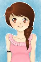 Pink shirt by TheLunia
