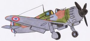 Bloch MB152 pencil by DingoPatagonico