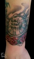 Clock by Anderstattoo