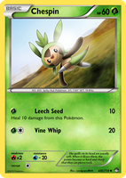 TheAlphaRanger Fake Cards 650/718: Chespin by TheAlphaRanger