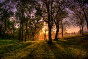 Pennsylvania Sunrise II HDR by ruabuddha