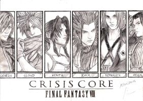 Crisis Core : Final Fantasy VII by Robert-Marten