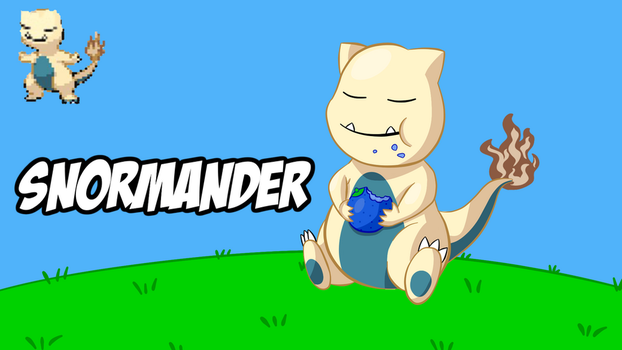 Snormander by AxXxelHunder