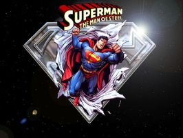 Superman: Man Of Steel by Superman8193