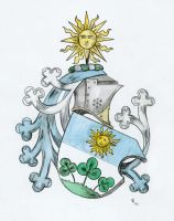 Silesian family Coat of Arms (request) by Raubritter