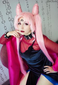 Sailor Moon - Black Lady Cosplay by HezaChan