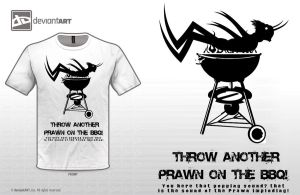 Throw another Prawn on the BBQ by paintedbrain-nz