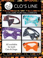 Halloween Collars Available Now by Ardengrail