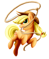 Applejack by Groxy-Cyber-Soul