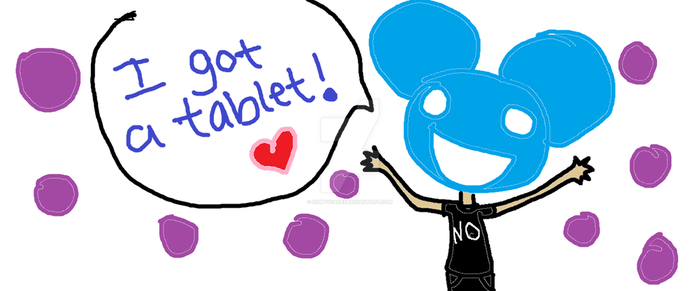 First tablet drawing(: by iCuppycakes