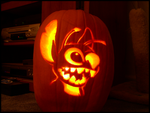 Stitch Pumpkin Carving - 5 Hrs by Experiment720