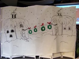 Whoville Background for a PreK Graduation Play by Dream-finder