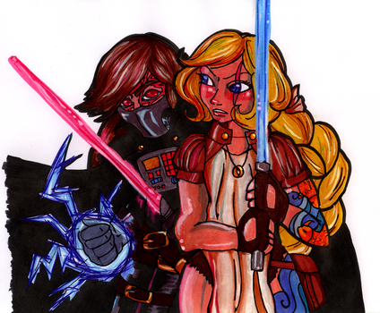 Star Wars: The Pants Wars by MedicineDoll