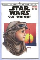 Rey - Shattered Empire SketchCover by Erik-Maell