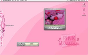 the Pink illusion Desktop by gwicons