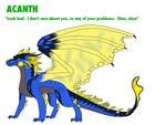 Acanth Reference Sheet CM by Haasiophis-Sahel