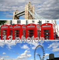 London Stock PACK by Malleni-Stock