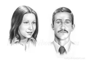 His Parents by nabey