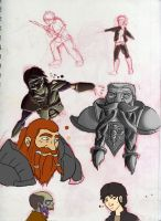 TNG Doodles by Otacon144