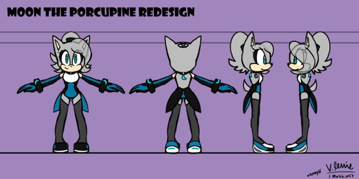 Moon Redesign Contest part 1 by villyvalley16