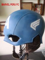 Captain America Helmet_03 by raultumba