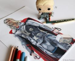 Thor WIP by Quelchii