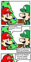 T'was the day before Christmas by supermariobroDX