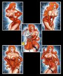 JESSICA RABBIT SKETCH CARDS by AHochrein2010