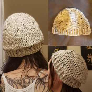 Slouchy beanie by Reisespieces