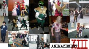 Animazement Cosplayers by TheIronClown